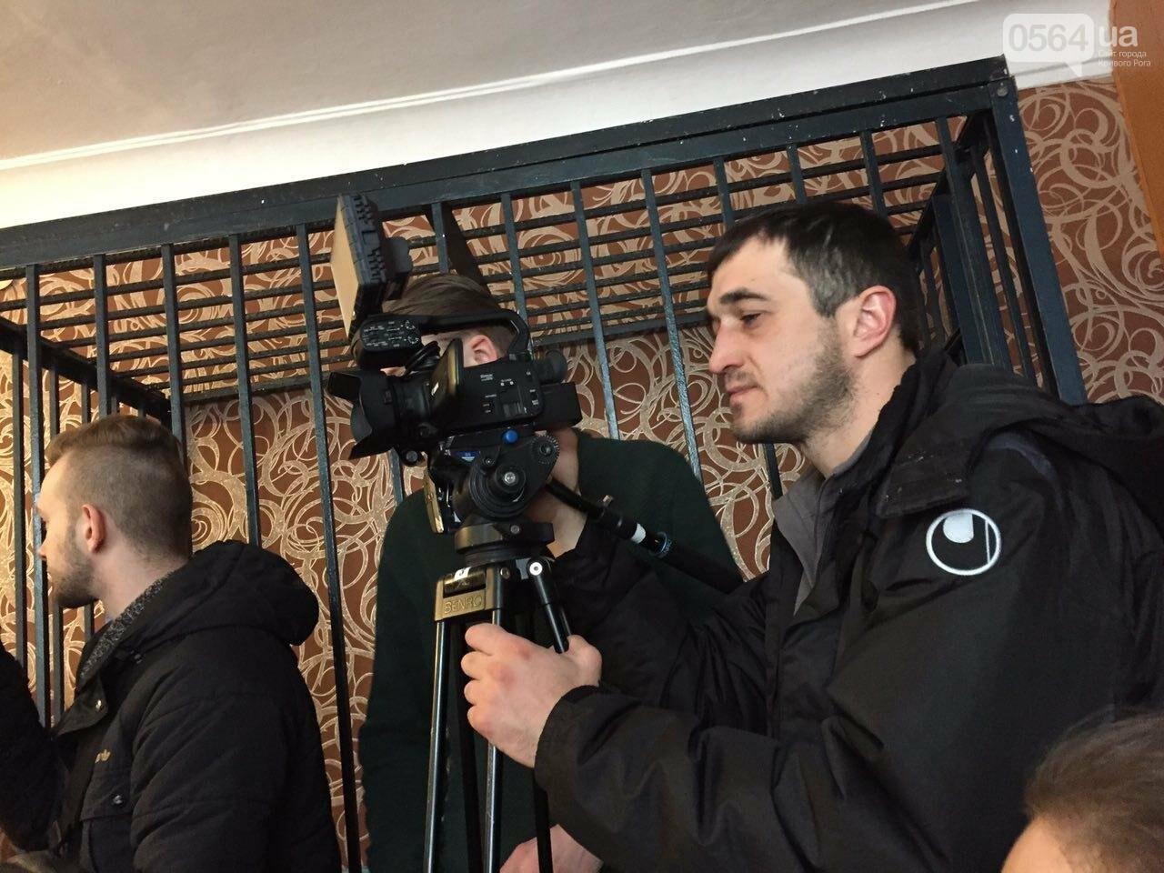 Криворожских журналистов в суде  допрашивают по делу Вячеслава Волка (ФОТО), фото-5