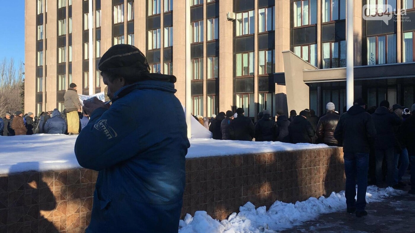 """""""Ми не ваші кріпаки..."""", - под Криворожским горсоветом проходит митинг сотрудников КПВП (ФОТО, ВИДЕО), фото-6"""