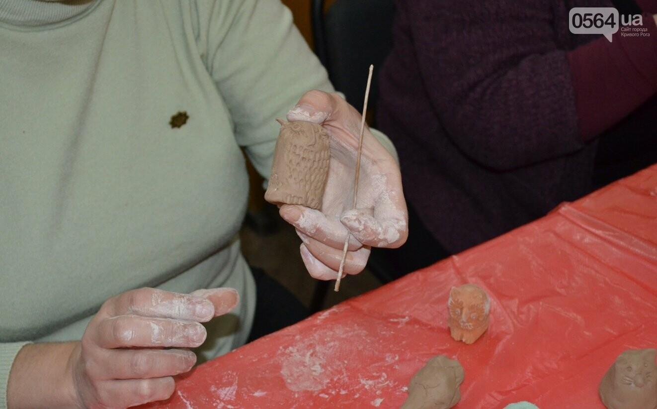 Мастер-класс по гончарству: В  музее Кривого Рога весну призывали свистом глиняных птиц (ФОТО, ВИДЕО), фото-4