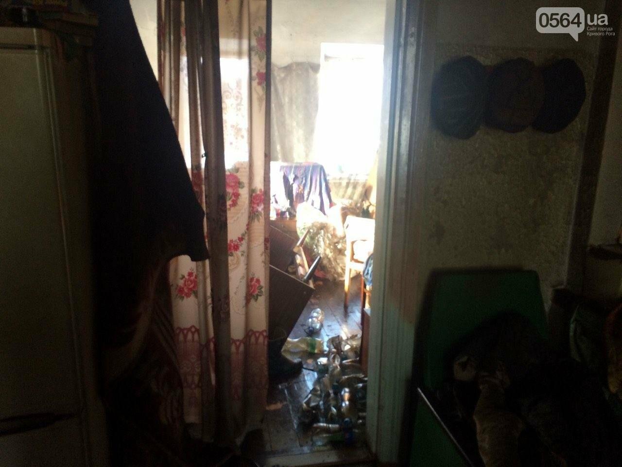 В Кривом Роге дедушка сгорел в собственном доме (ФОТО), фото-1