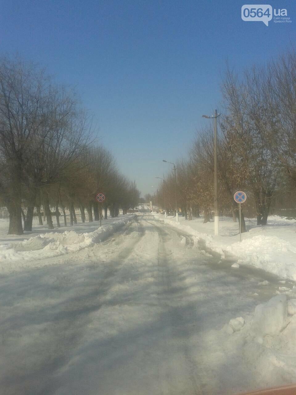 Внимание, гололед: В Кривом Роге проезжая часть для пешеходов безопаснее, чем тротуары (ФОТО), фото-18