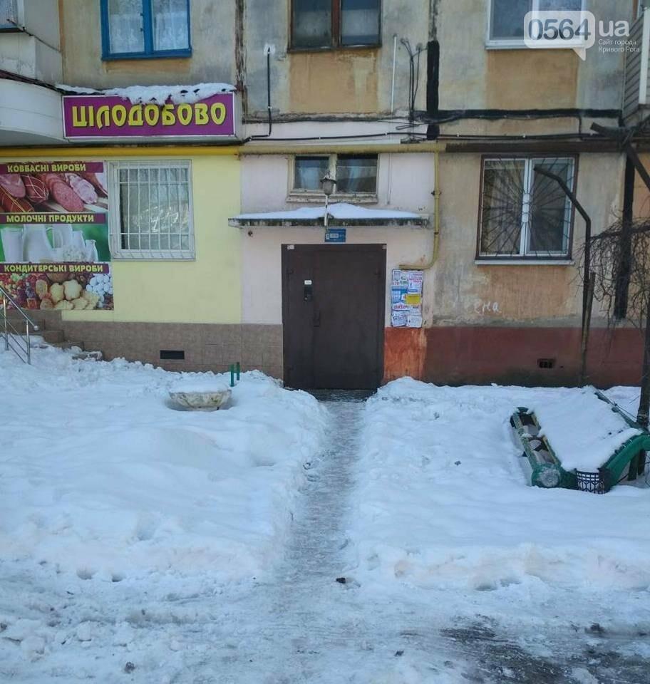 В Кривом Роге начали штрафовать коммунальщиков за некачественную посыпку тротуаров (ФОТО), фото-6