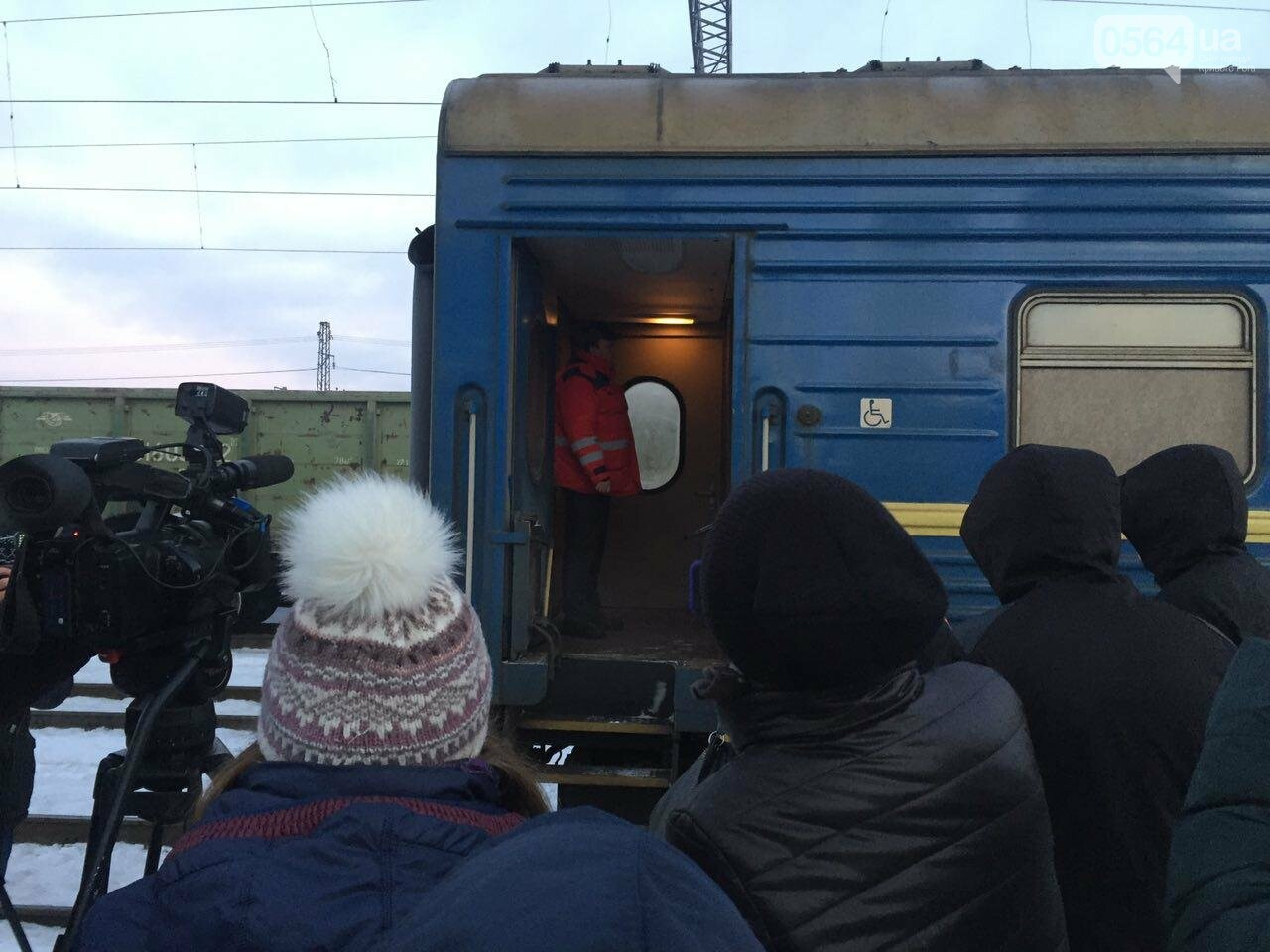 В Кривой Рог вернулся журналист Вячеслав Волк, тяжело раненый во время учений резервистов (ФОТО), фото-2