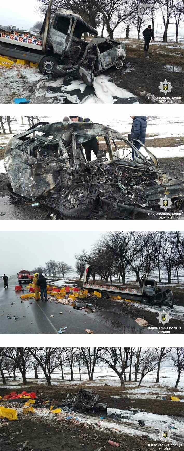 Спасатели уточнили - в страшном ДТП на Днепропетровщине погибло 4 человека, в том числе ребенок (ФОТО) (ОБНОВЛЕНО), фото-1