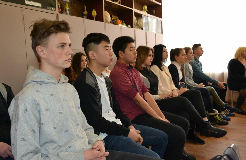 На встречу с криворожскими школьниками пришел настоящий чемпион (ФОТО, ВИДЕО), фото-13