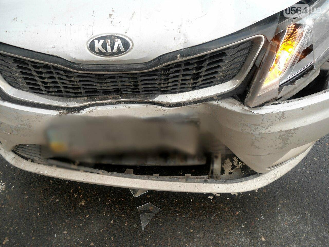 "ДТП в Кривом Роге: на светофоре  ""Kia""  влетел в ""Chevrolet"" (ФОТО), фото-2"