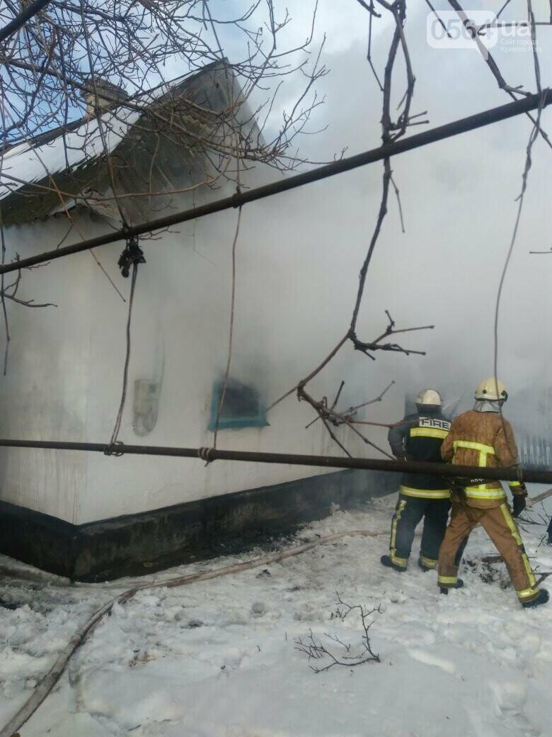Под Кривым Рогом на пожаре пострадали двое малышей (ФОТО), фото-2