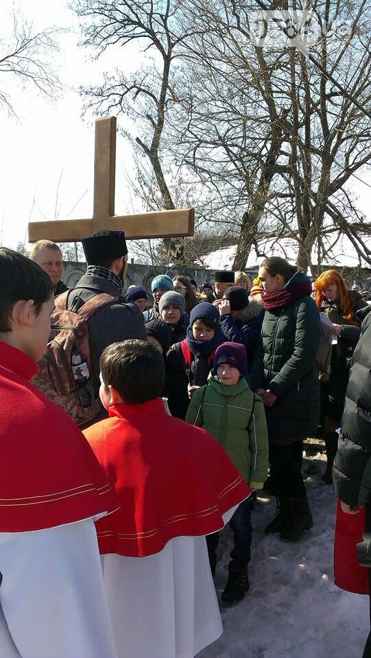 Криворожские пластуны приняли участие в Крестном пути накануне Пасхи (ФОТО), фото-2