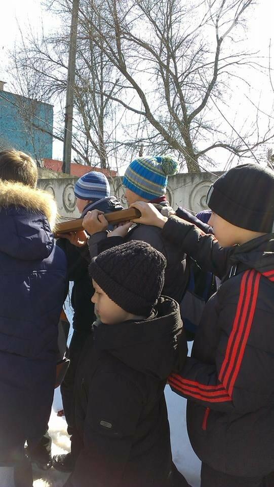 Криворожские пластуны приняли участие в Крестном пути накануне Пасхи (ФОТО), фото-3