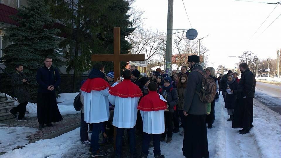 Криворожские пластуны приняли участие в Крестном пути накануне Пасхи (ФОТО), фото-4