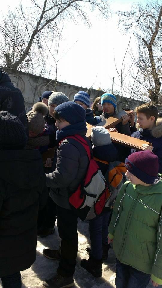 Криворожские пластуны приняли участие в Крестном пути накануне Пасхи (ФОТО), фото-7