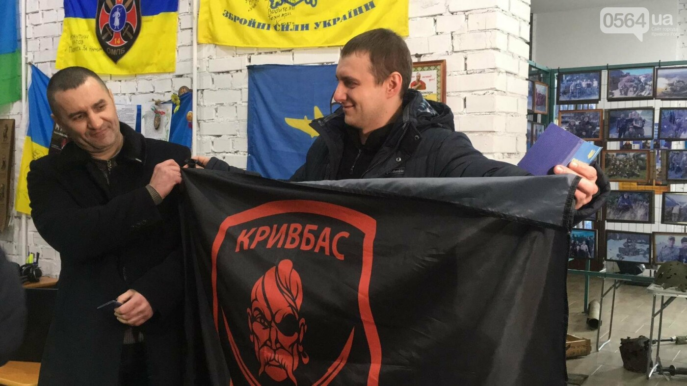 """Освобожденные из плена """"кривбассовцы"""" посетили музей родного батальона (ФОТО, ВИДЕО), фото-7"""