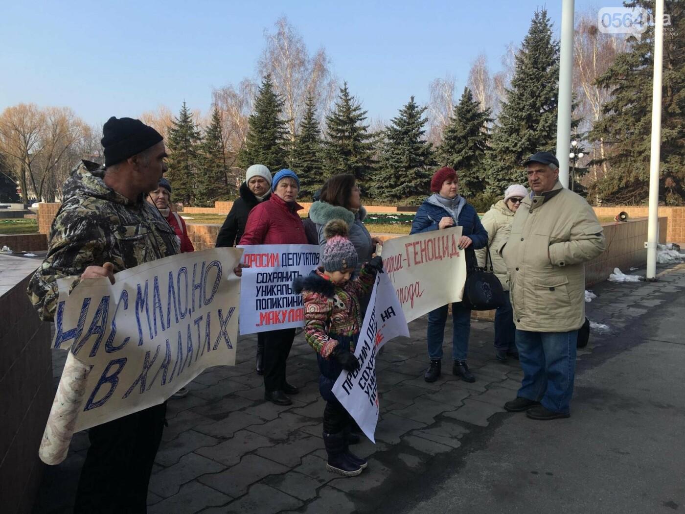 Под стенами Криворожского горисполкома проходит акция протеста медиков (ФОТО), фото-9