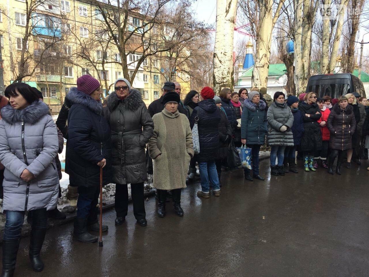 Кривой Рог простился с бойцом 54 бригады Сергеем Гранкиным (ФОТО), фото-3