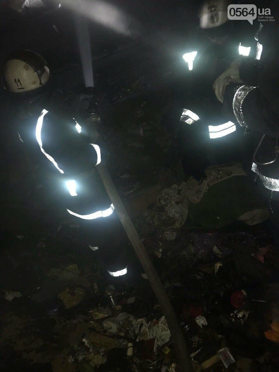 В Кривом Роге сгорел скутер, хранившийся в сарае (ФОТО), фото-2