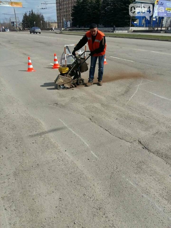 Ремонтировать дороги в Кривом Роге обещают так же, как и боролись со снегом (ФОТО), фото-7
