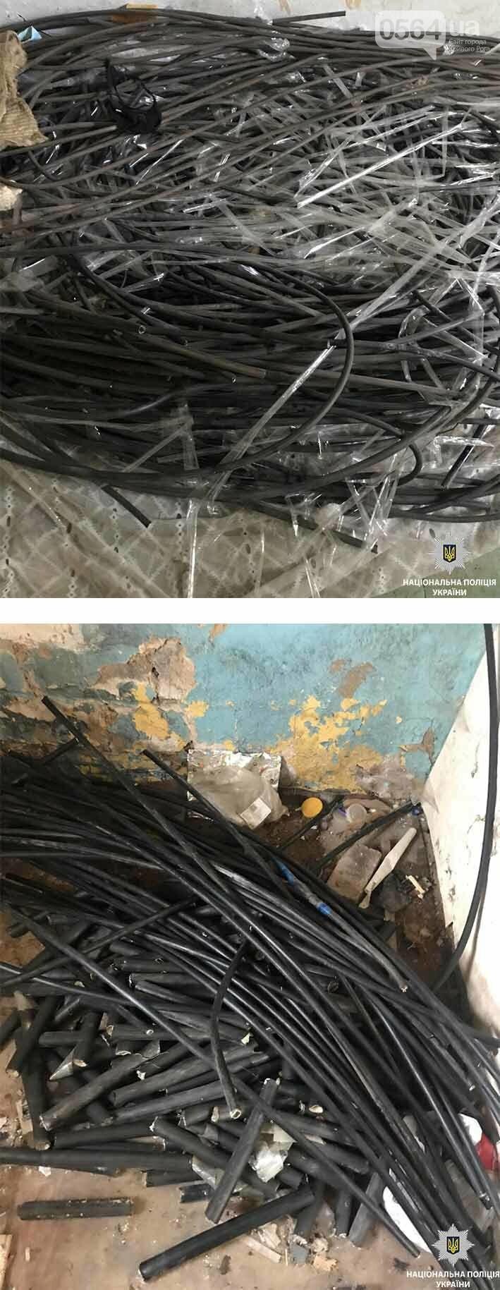 Криворожский рецидивист вырезал кабеля на несколько сотен тысяч гривен (ФОТО), фото-1
