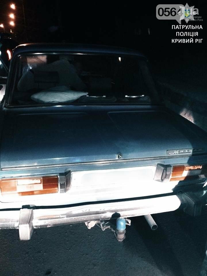 На пьяного криворожского водителя составили протокол сразу по трем статьям (ФОТО), фото-2