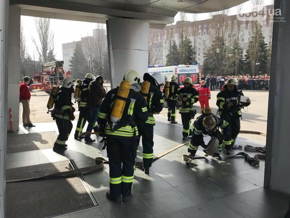 В Кривом Роге спасатели тренировались тушить пожар в ТРЦ  (ФОТО, ВИДЕО), фото-5