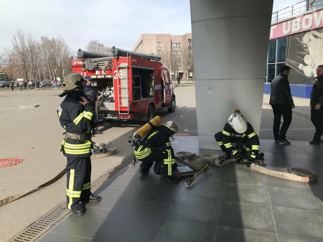 В Кривом Роге спасатели тренировались тушить пожар в ТРЦ  (ФОТО, ВИДЕО), фото-1