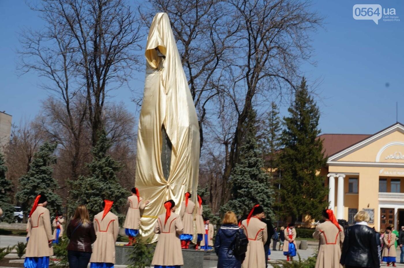 На Благовещение в Кривом Роге открыли памятник покровительнице украинских козаков (ФОТО, ВИДЕО), фото-40