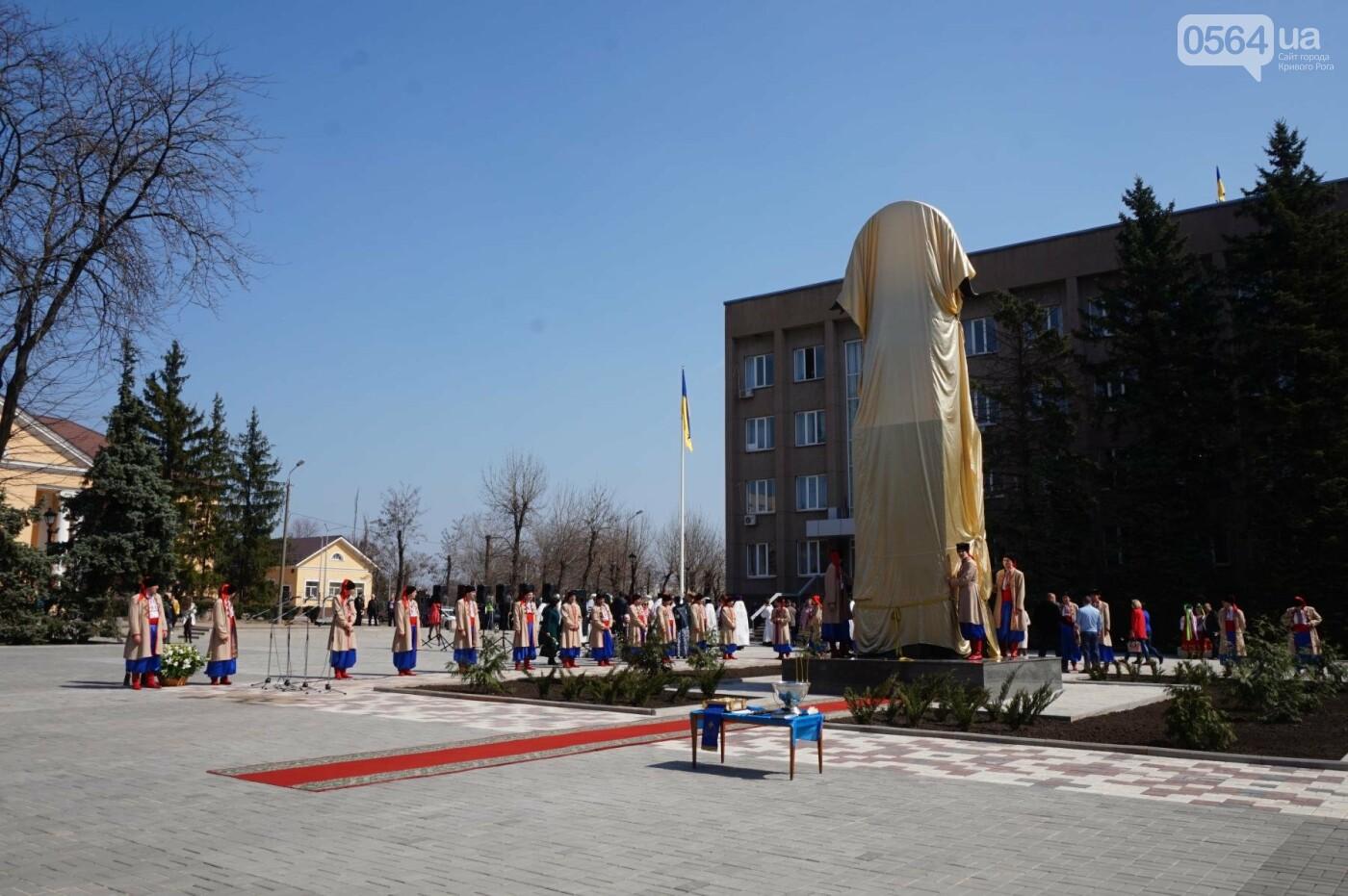 На Благовещение в Кривом Роге открыли памятник покровительнице украинских козаков (ФОТО, ВИДЕО), фото-30