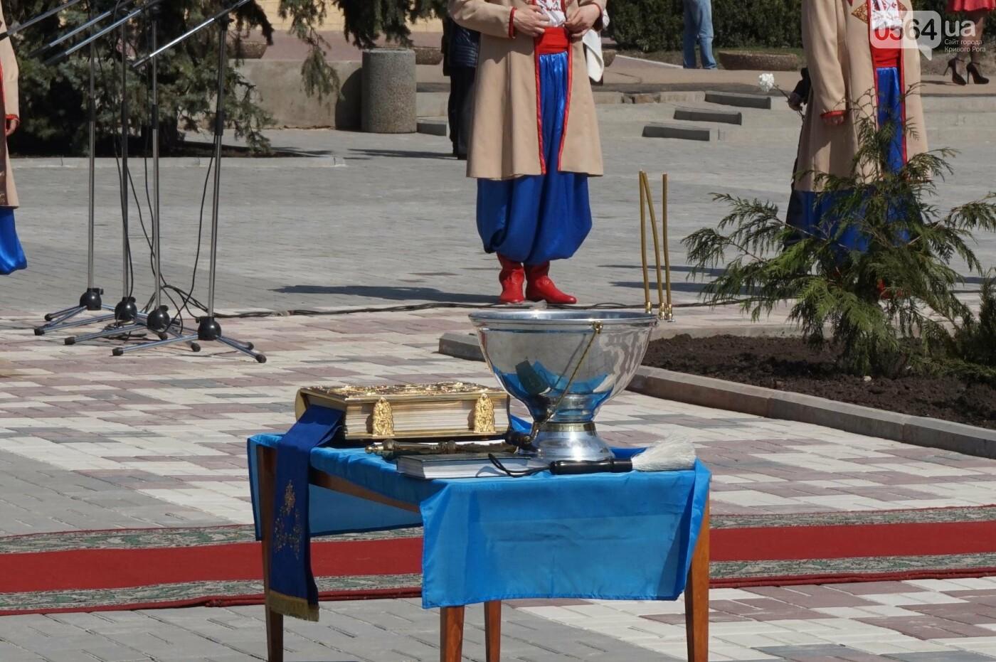 На Благовещение в Кривом Роге открыли памятник покровительнице украинских козаков (ФОТО, ВИДЕО), фото-28