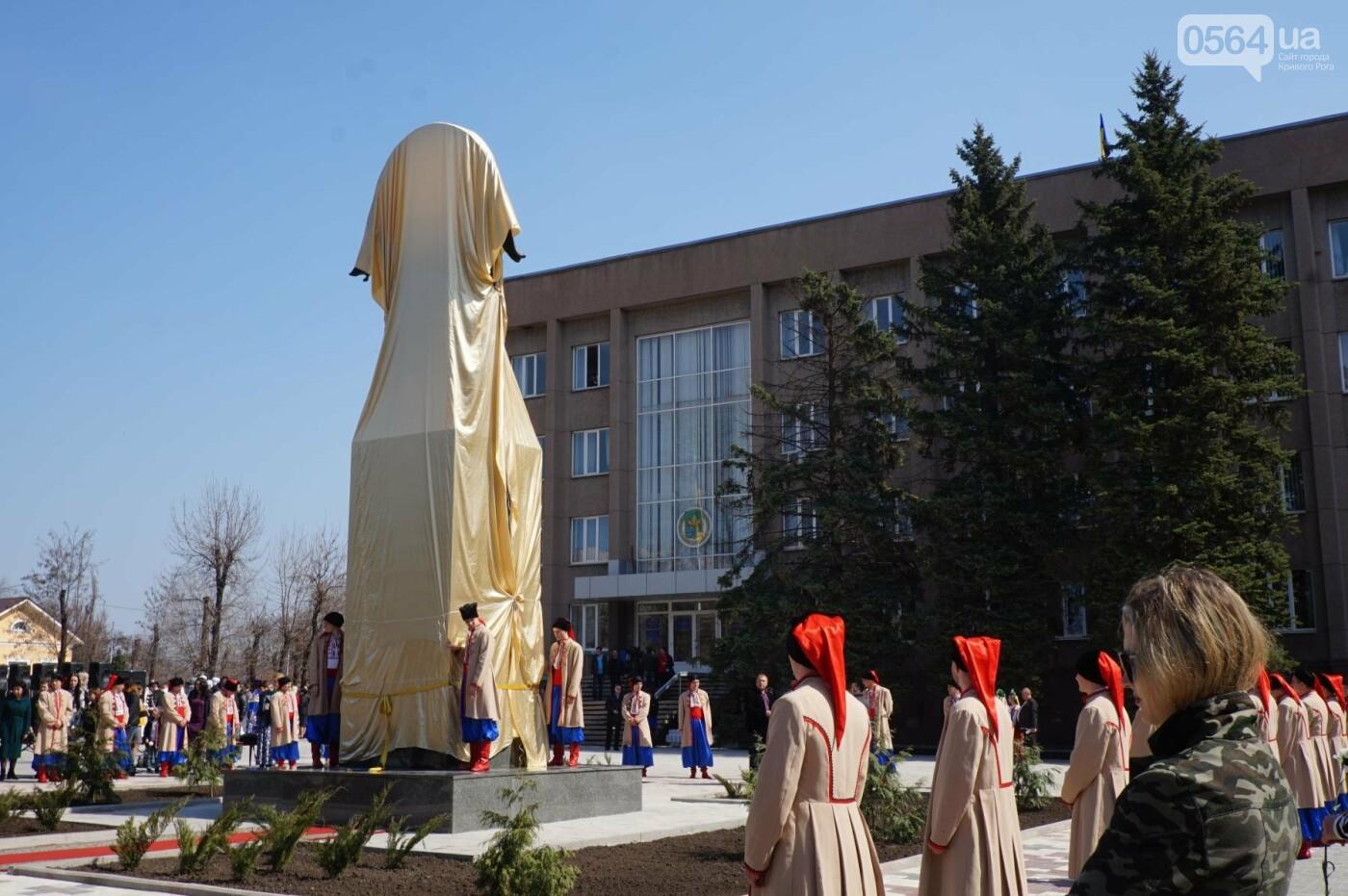 На Благовещение в Кривом Роге открыли памятник покровительнице украинских козаков (ФОТО, ВИДЕО), фото-31