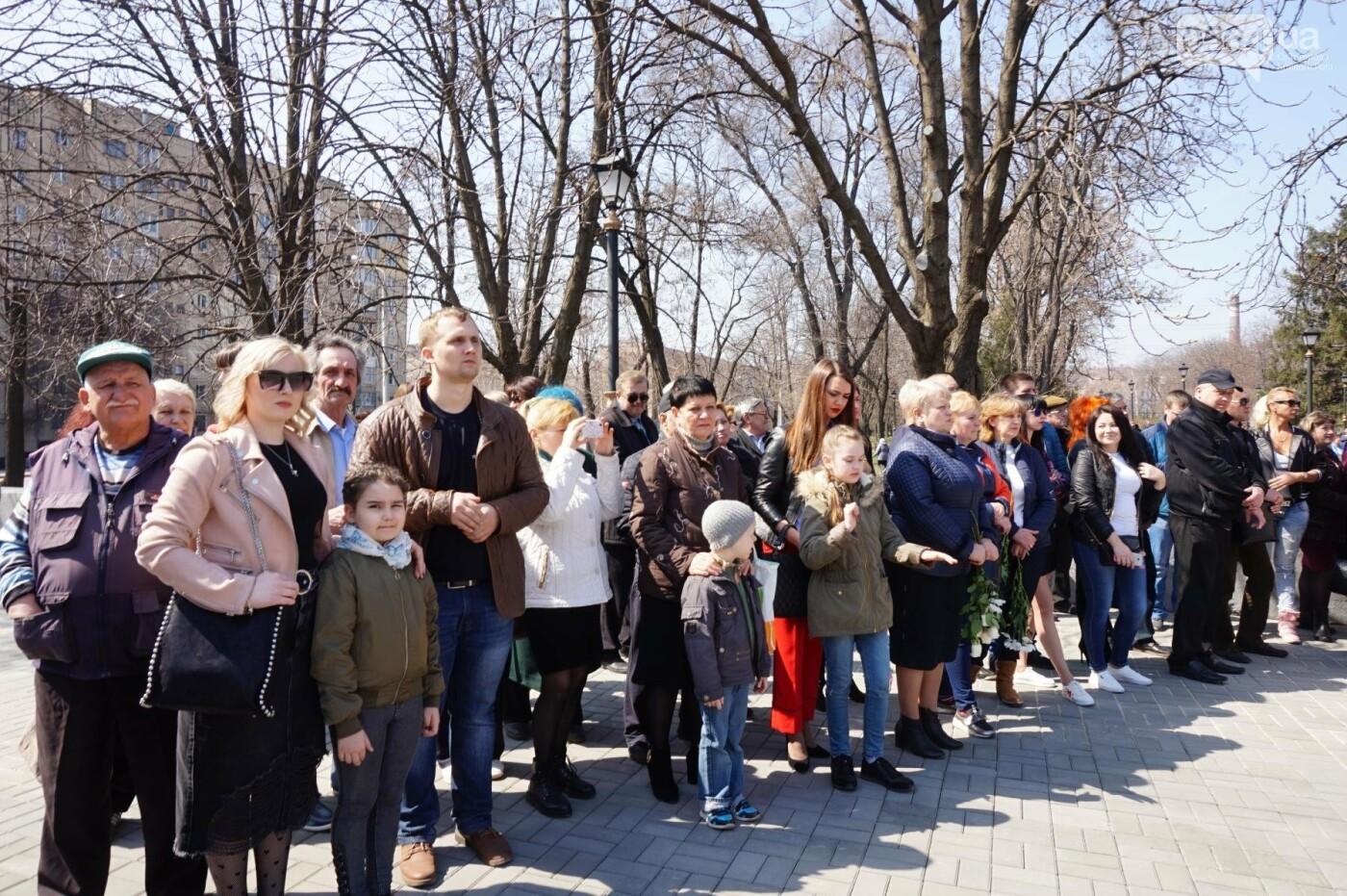На Благовещение в Кривом Роге открыли памятник покровительнице украинских козаков (ФОТО, ВИДЕО), фото-45