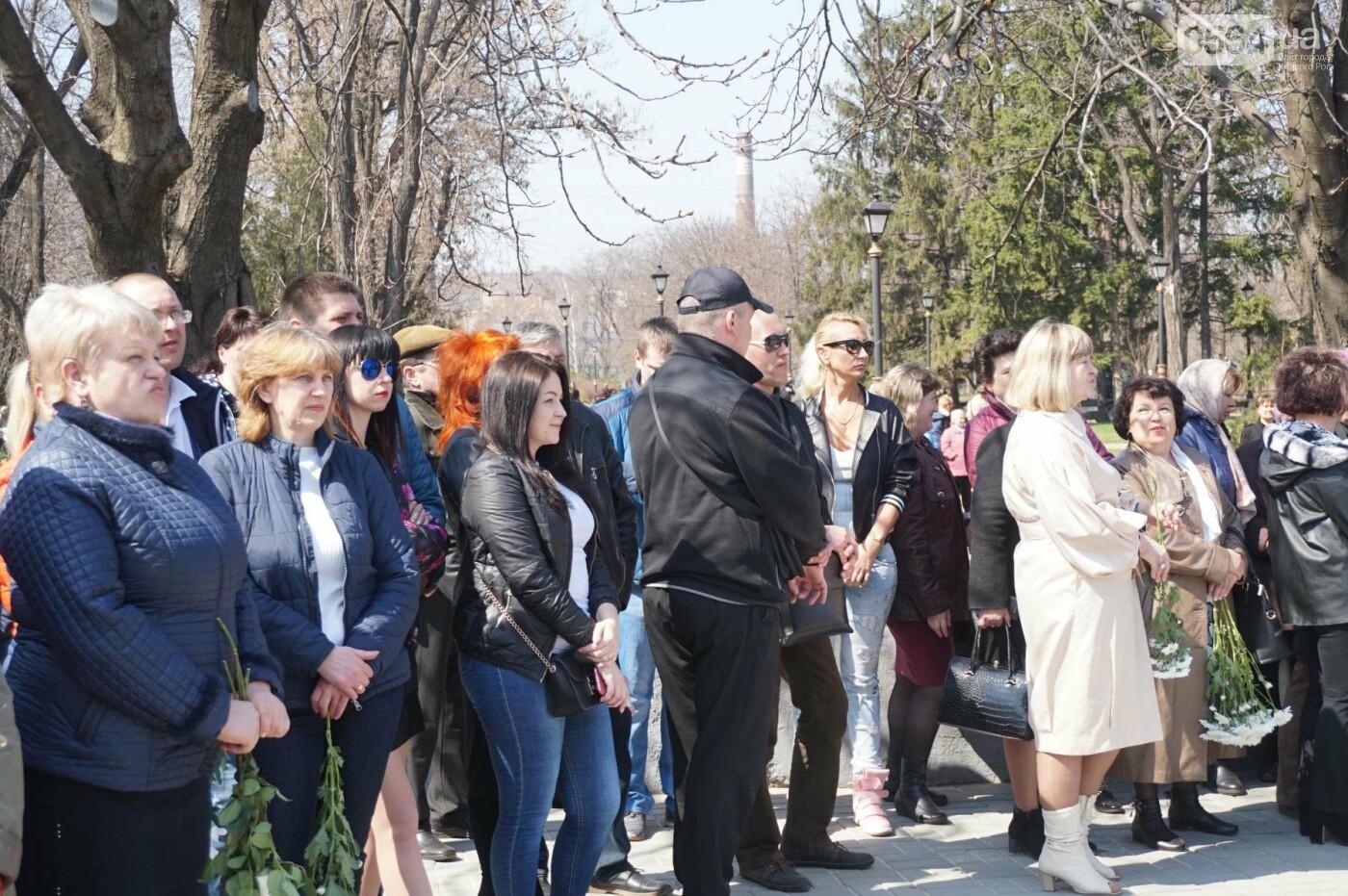 На Благовещение в Кривом Роге открыли памятник покровительнице украинских козаков (ФОТО, ВИДЕО), фото-43