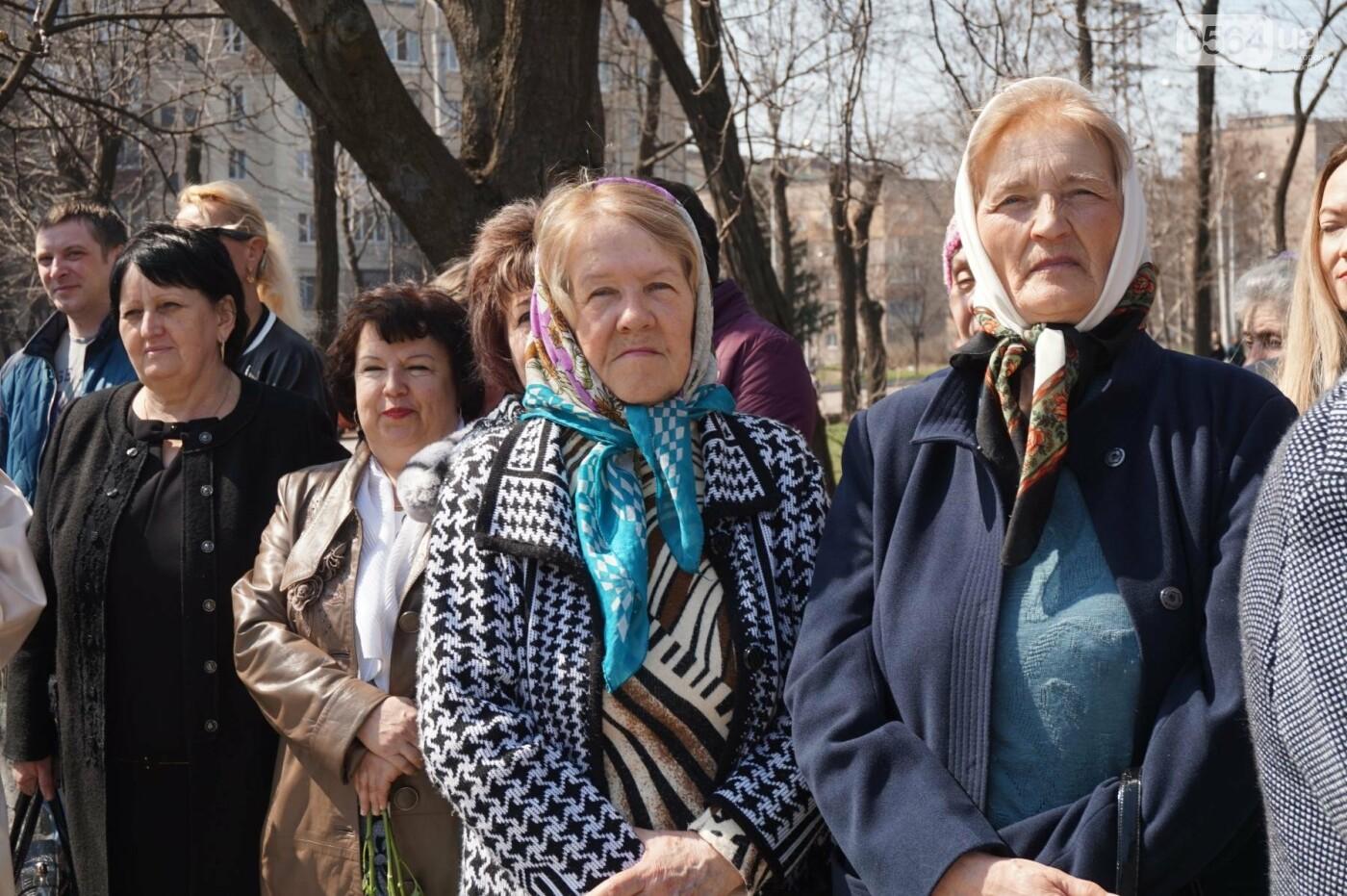 На Благовещение в Кривом Роге открыли памятник покровительнице украинских козаков (ФОТО, ВИДЕО), фото-41