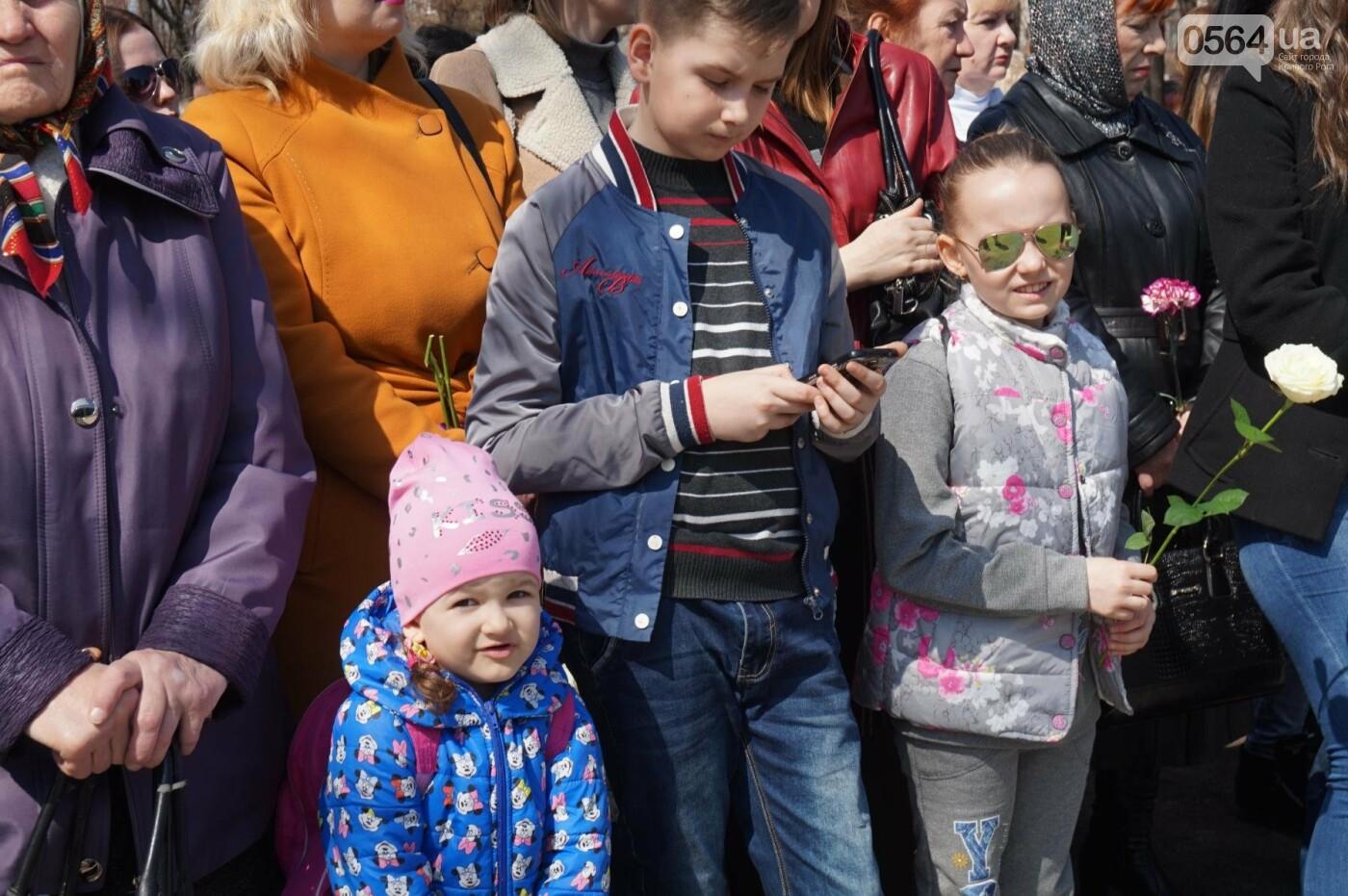 На Благовещение в Кривом Роге открыли памятник покровительнице украинских козаков (ФОТО, ВИДЕО), фото-33
