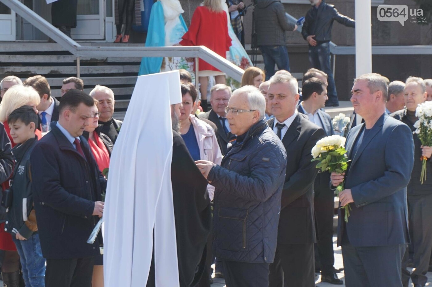 На Благовещение в Кривом Роге открыли памятник покровительнице украинских козаков (ФОТО, ВИДЕО), фото-14