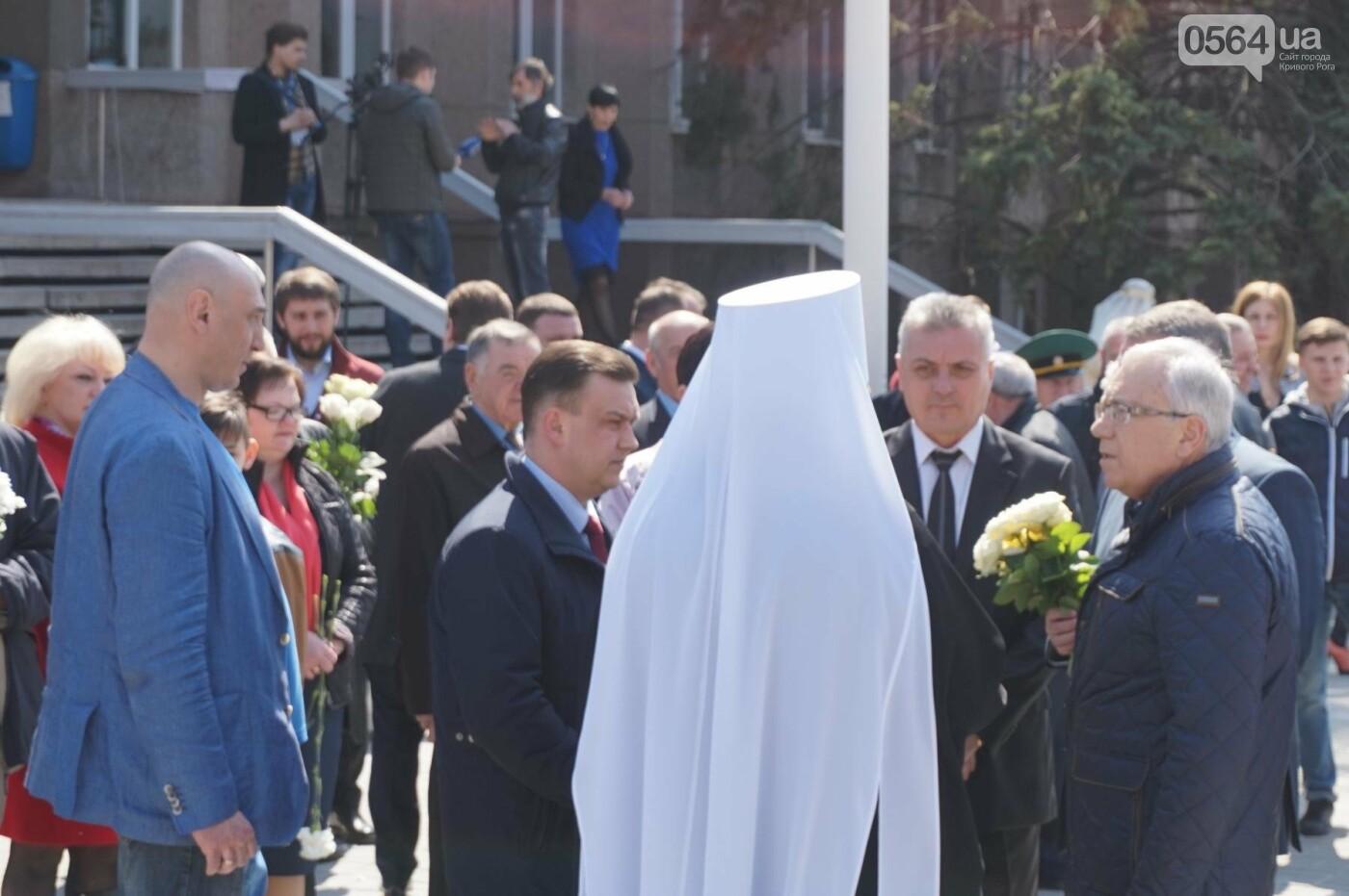 На Благовещение в Кривом Роге открыли памятник покровительнице украинских козаков (ФОТО, ВИДЕО), фото-12