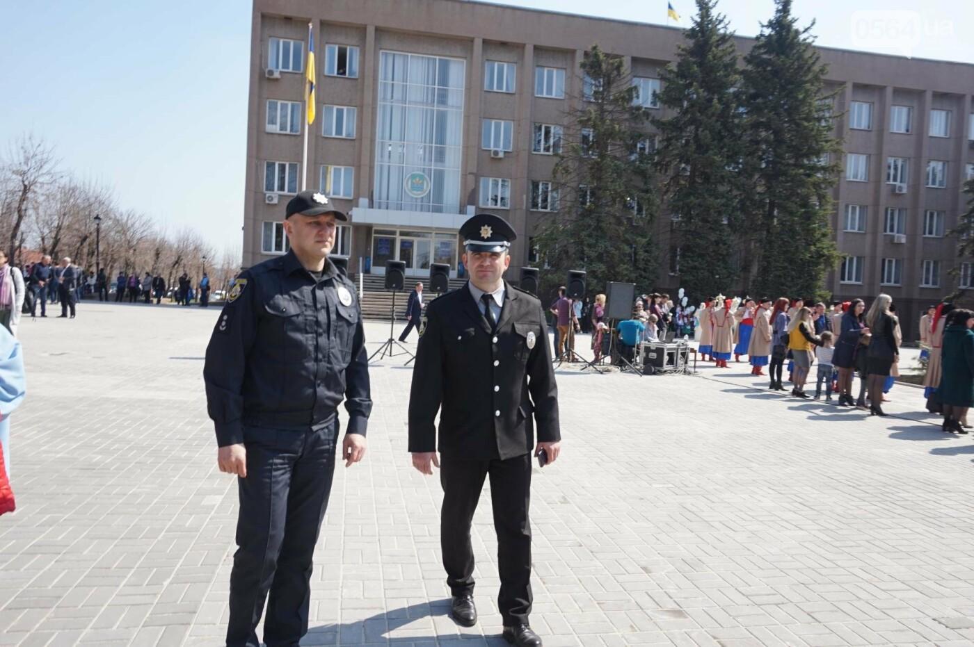 На Благовещение в Кривом Роге открыли памятник покровительнице украинских козаков (ФОТО, ВИДЕО), фото-24