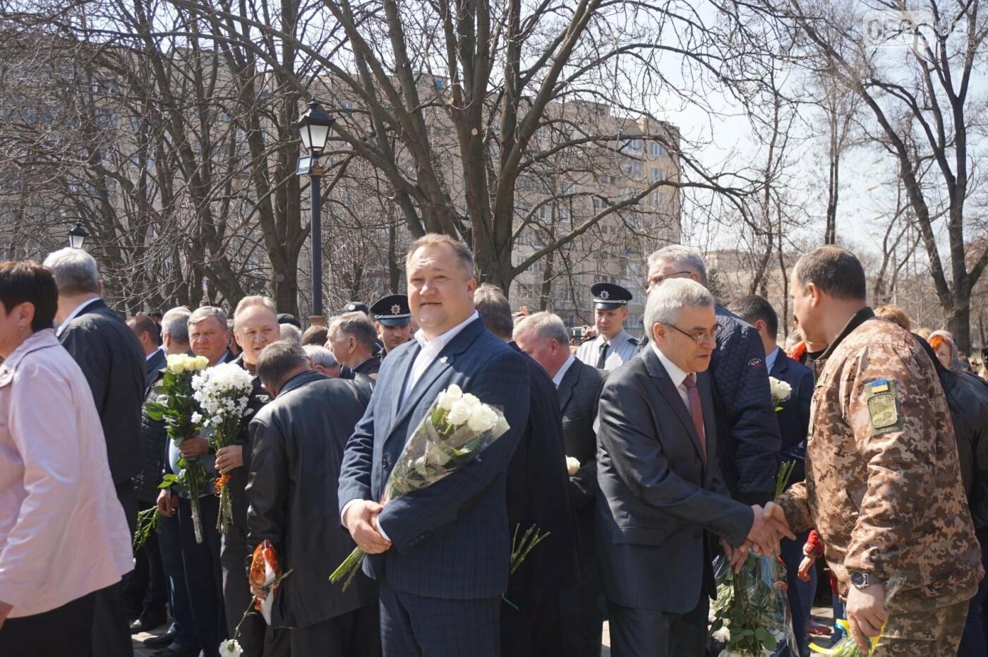 На Благовещение в Кривом Роге открыли памятник покровительнице украинских козаков (ФОТО, ВИДЕО), фото-44