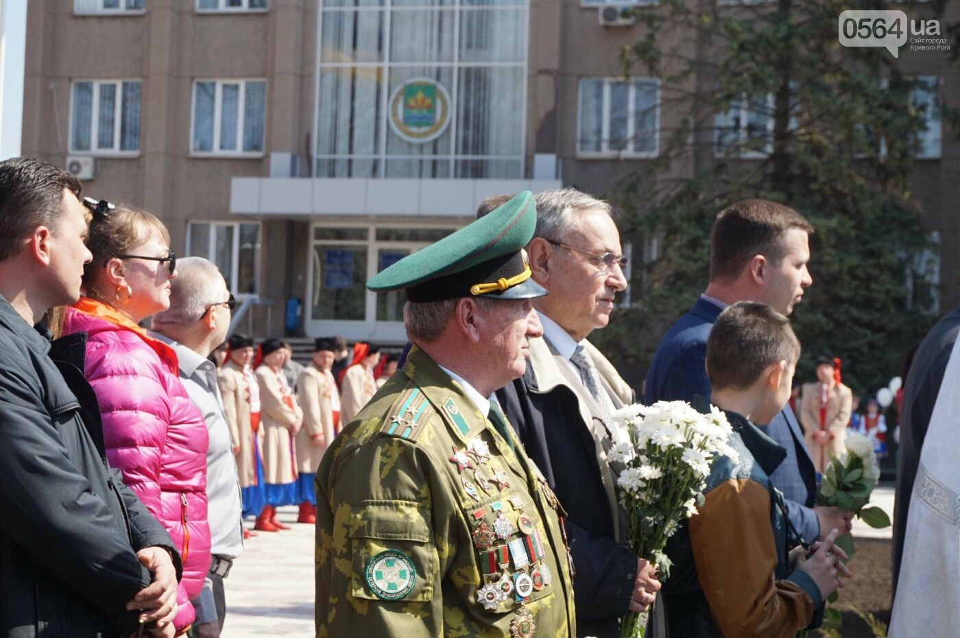 На Благовещение в Кривом Роге открыли памятник покровительнице украинских козаков (ФОТО, ВИДЕО), фото-26