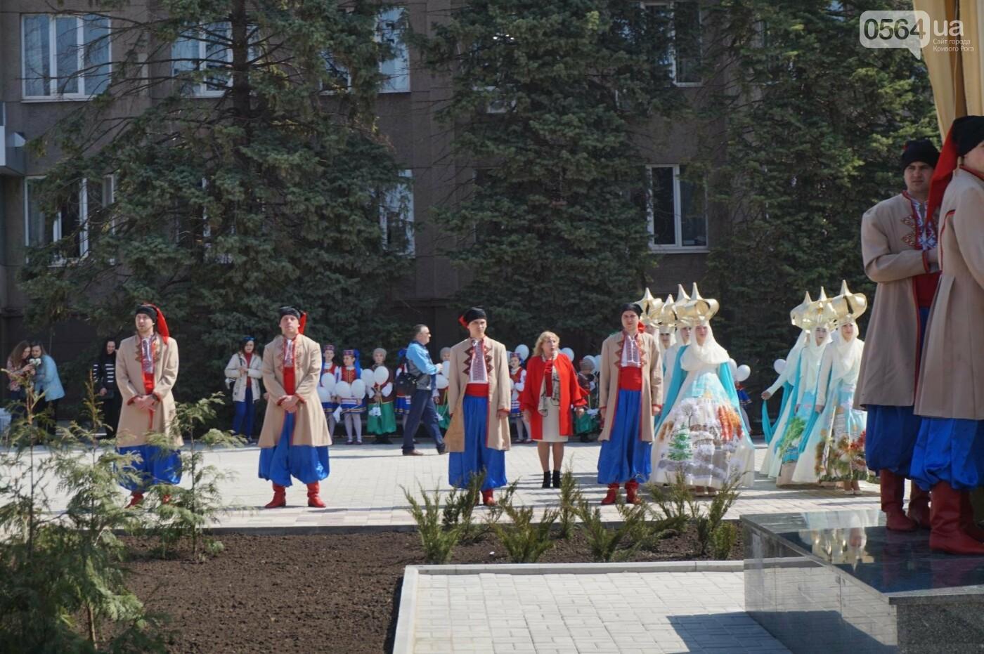 На Благовещение в Кривом Роге открыли памятник покровительнице украинских козаков (ФОТО, ВИДЕО), фото-38