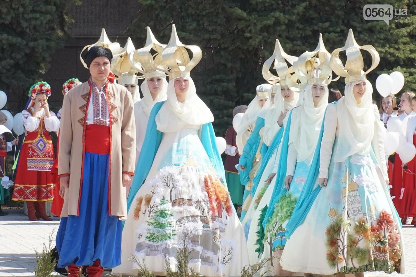 На Благовещение в Кривом Роге открыли памятник покровительнице украинских козаков (ФОТО, ВИДЕО), фото-29