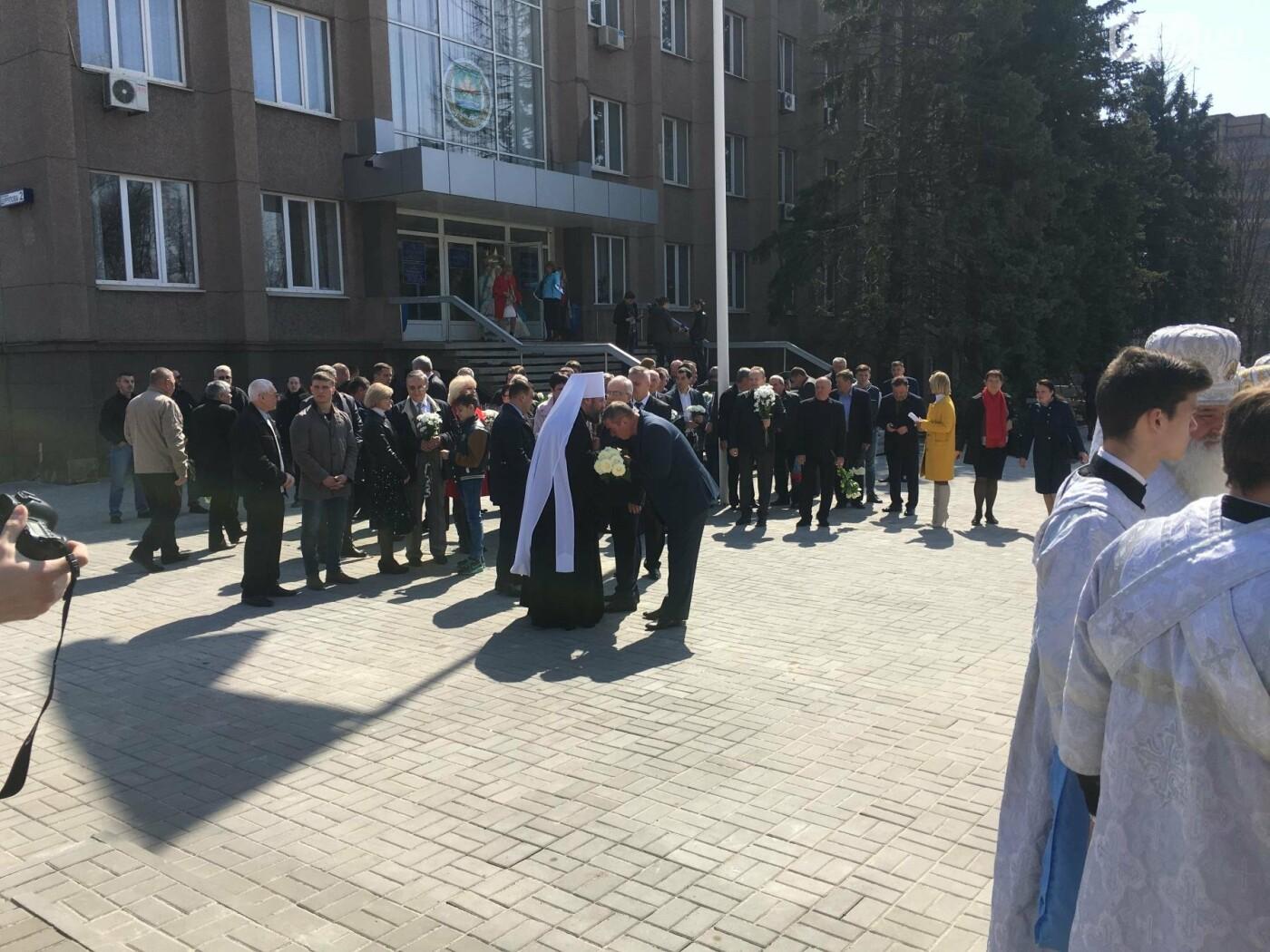 На Благовещение в Кривом Роге открыли памятник покровительнице украинских козаков (ФОТО, ВИДЕО), фото-16