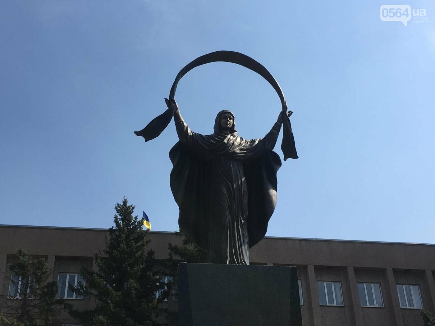 На Благовещение в Кривом Роге открыли памятник покровительнице украинских козаков (ФОТО, ВИДЕО), фото-1
