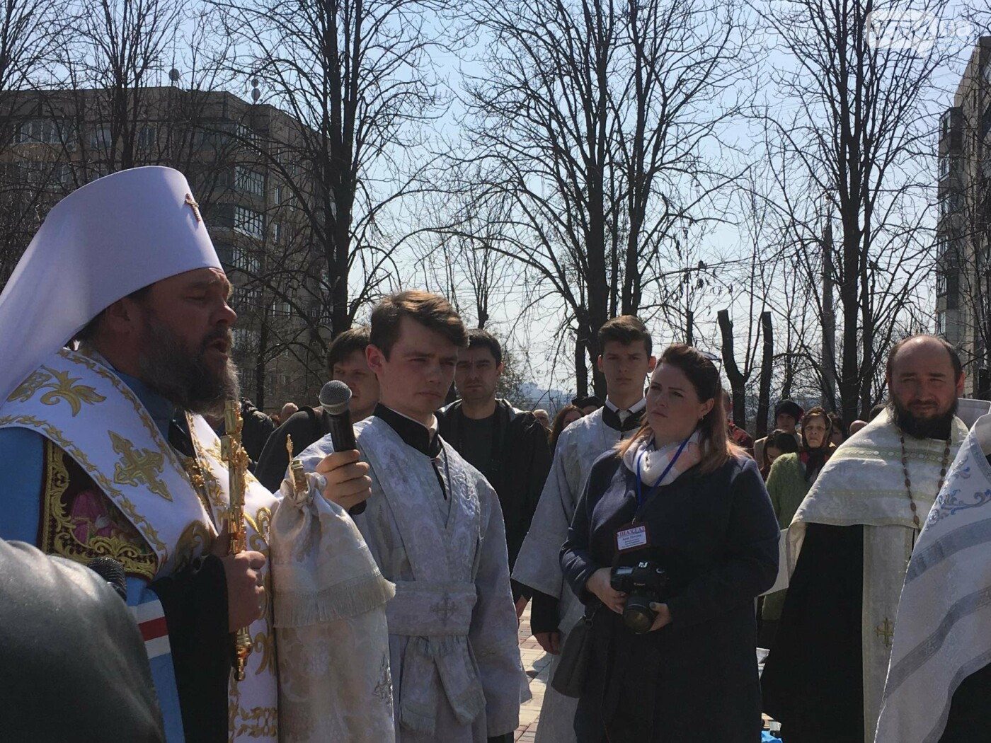 На Благовещение в Кривом Роге открыли памятник покровительнице украинских козаков (ФОТО, ВИДЕО), фото-22