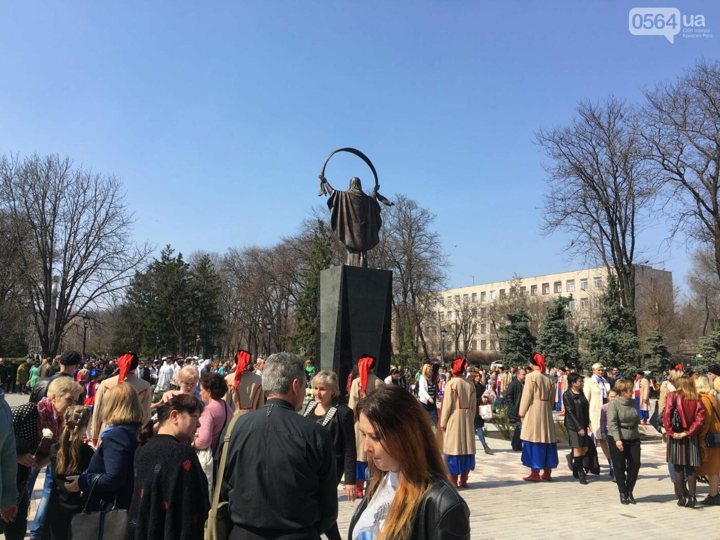 На Благовещение в Кривом Роге открыли памятник покровительнице украинских козаков (ФОТО, ВИДЕО), фото-27