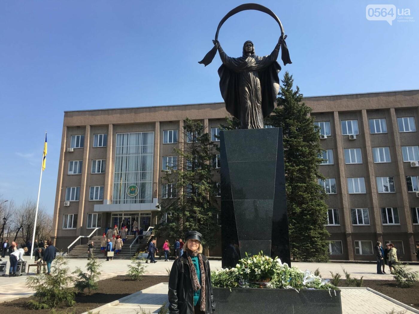 На Благовещение в Кривом Роге открыли памятник покровительнице украинских козаков (ФОТО, ВИДЕО), фото-19