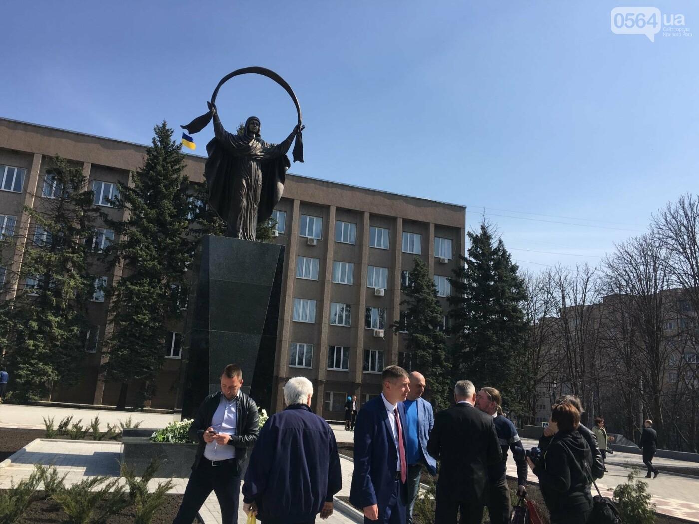 На Благовещение в Кривом Роге открыли памятник покровительнице украинских козаков (ФОТО, ВИДЕО), фото-15