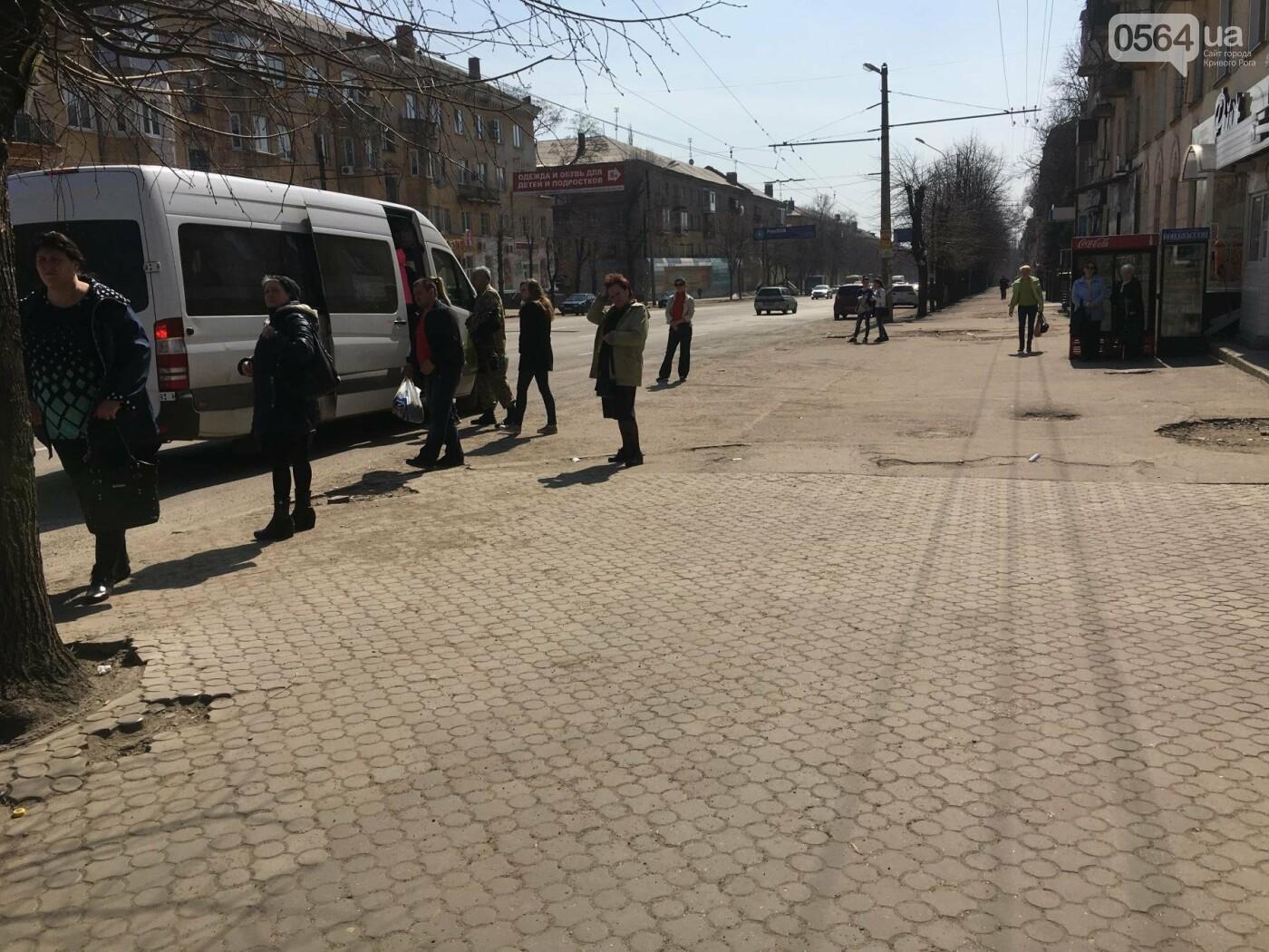 Криворожская правозащитница потребовала отремонтировать остановку так же быстро, как и дорожки перед райисполкомом (ФОТО), фото-7