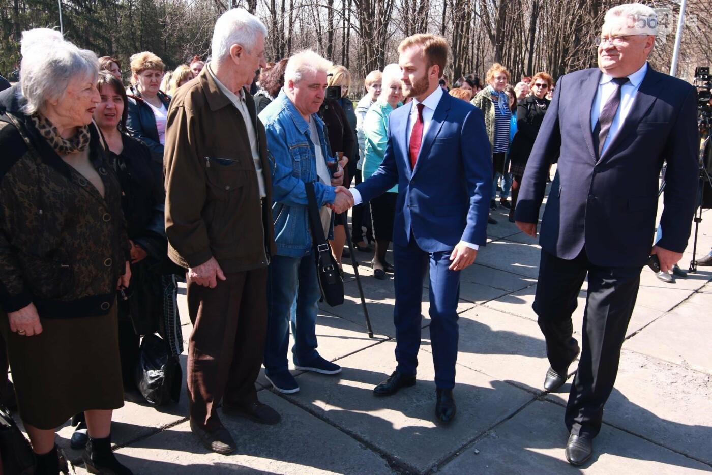 Константин Усов дал старт реконструкции мемориала Славы на братской могиле в Кривом Роге, фото-3