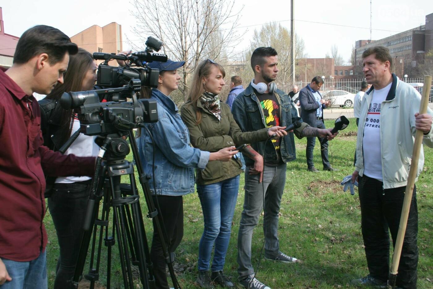 Криворожские журналисты с друзьями высадили более сотни деревьев и вывезли 4 грузовика мусора (ФОТО), фото-6