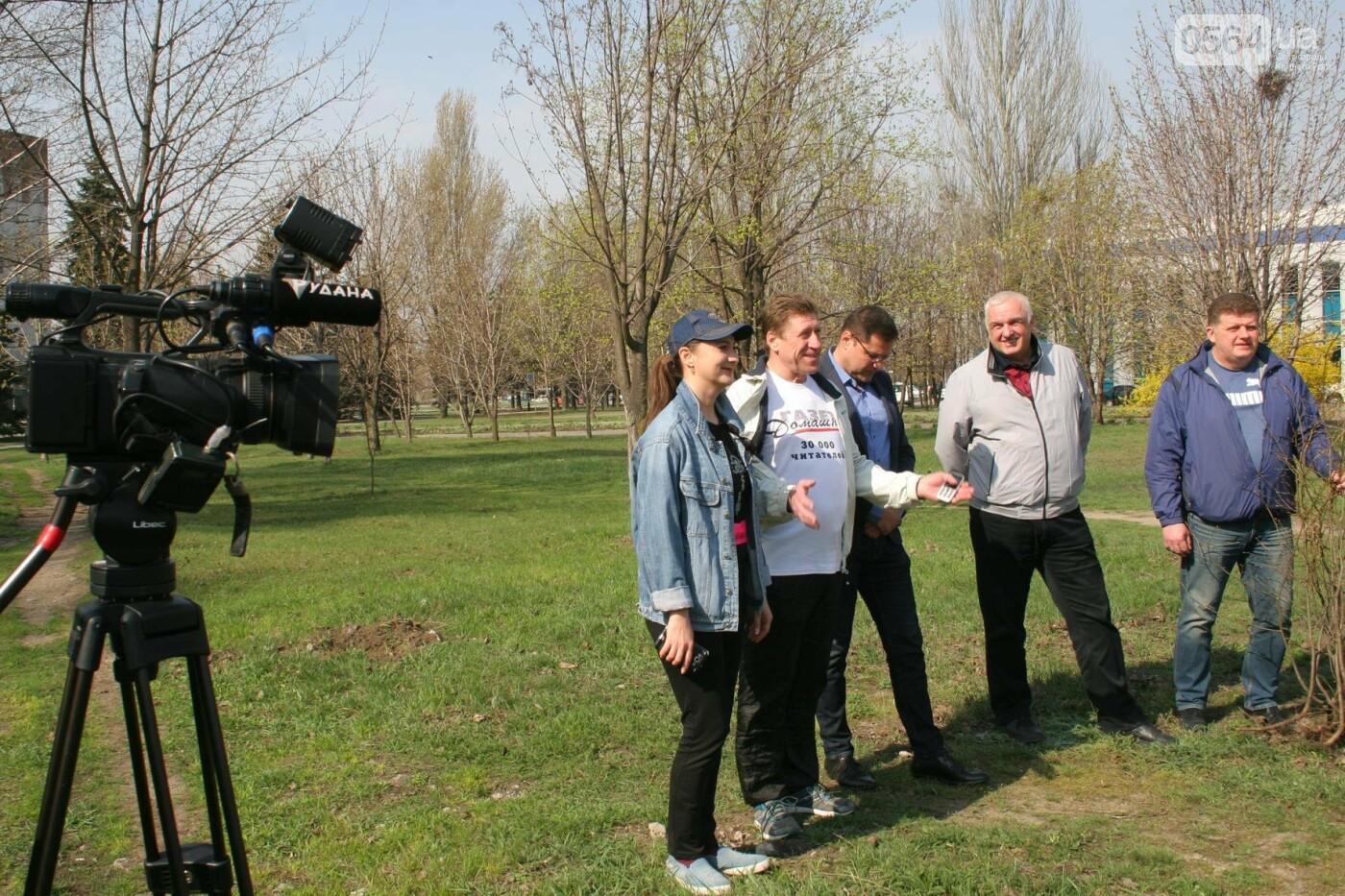 Криворожские журналисты с друзьями высадили более сотни деревьев и вывезли 4 грузовика мусора (ФОТО), фото-18