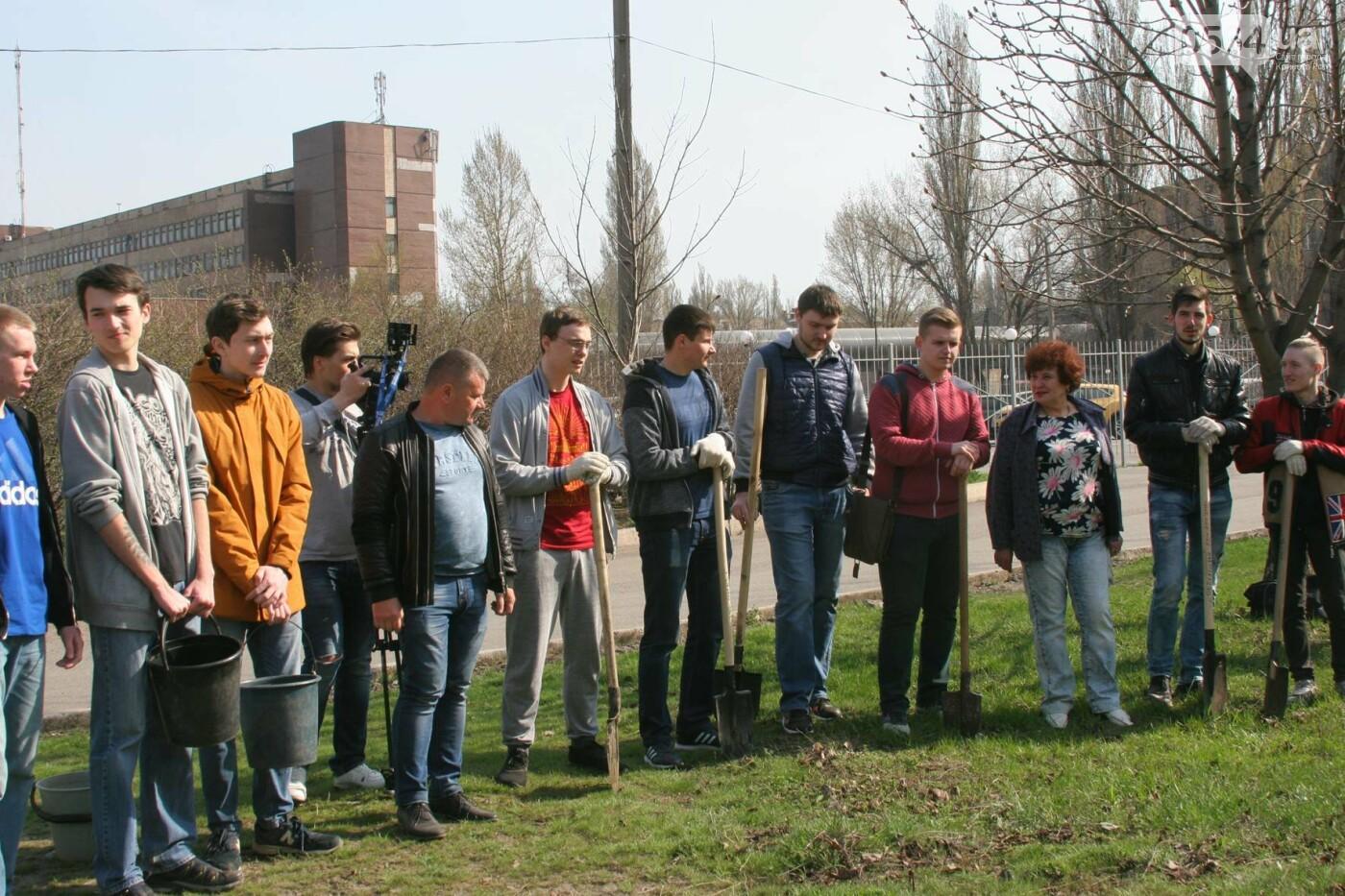 Криворожские журналисты с друзьями высадили более сотни деревьев и вывезли 4 грузовика мусора (ФОТО), фото-2